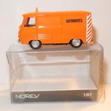 MICRO NOREV HO 1/87 PEUGEOT J7 SERVICE AUTOROUTES DDE TRAVAUX PUBLICS IN BOX