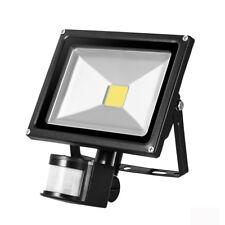 LEMBRD 20W LED Floodlight PIR Motion Sensor Outdoor Garden Security Lights Warm