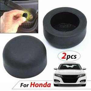 2x Car Wiper Washer Arm Nut Cover Rubber Caps Bolt For Honda Civic Accord CRV
