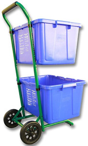 Recycle Cart for Recycle Bins Robust Recycle Cart for Simple Recycle Bin Moving