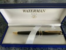 Waterman 1740803 Expert Smart Brown Gold Trim Ballpoint Pen