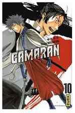 manga Gamaran Tome 10 Shonen Yosuke Nakamaru Livre Neuf Kana VF Samourai Hirata