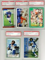 EDGERRIN JAMES PSA Graded RC Rookie Lot HOF - ALL MINT CONDITION!