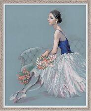 RIOLIS  100-054  Danseuse de Ballet  Broderie  Point de Croix compté