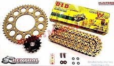 Triumph 675 Street Triple DID Gold X-Ring Chain & Renthal Sprockets Kit Set