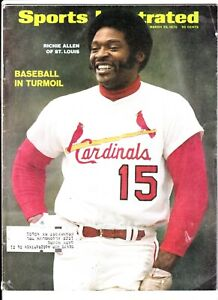 Dick Allen March 23 1970 Sports Illustrated St. Louis Cardinals