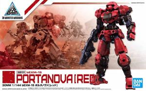 Bandai Portanova Red 30 Minutes Missions 1/144 30MM bEXM-15 Model Kit