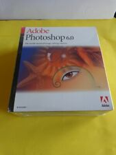 100% Genuine: New Adobe PhotoShop 6.0 Full Version for Windows 7; XP or older
