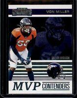 2019 Panini Contenders MVP Contenders Von Miller #MVP-VM
