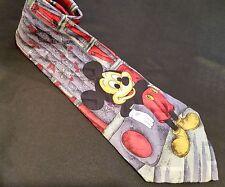 Disney Mickey Mouse Collector Men's Neck Tie Silk Atlas Design Gothenburg Sweden