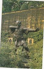 BF18131 robin hood statue nottingham ejno sculpture art front/back image
