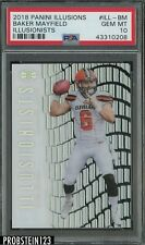2018 Panini Illusions Baker Mayfield Browns RC Rookie PSA 10 GEM MINT