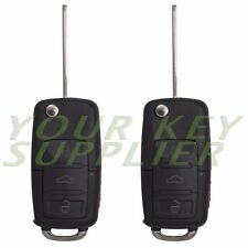 2 New Uncut Flip Remote Transponder Key Fob Keyless Combo Altima Maxima i35