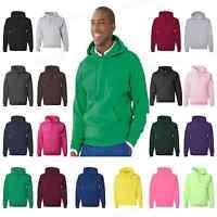 JERZEES Mens NuBlend Hooded Sweatshirt Fleece Pullover S-5XL Hoodie 996MR PI