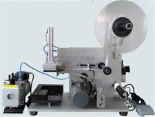 Oberflächenetikettiermaschine Halbautomatische Etikettiermaschine Neue Flache qb