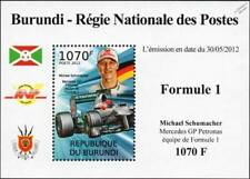 Michael Schumacher Mercedes AMG Petronas F1 GP Race / Racing Car Stamp Sheet