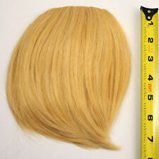 7'' Short Clip on Bangs Butterscotch Blonde Cosplay Wig Hair Extension NEW