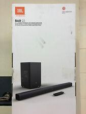 JBL BAR 2.1 WIRELESS SOUNDBAR 300W SUBWOOFER BLUETOOTH 4.2 OPTICAL HDMI