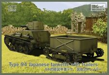 TYPE 94 JAPANESE TANKETTE WITH TRAILLERS #72045  1/72 IBG BRAND NEW