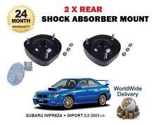 pour Subaru Impreza 2.0 WRX STI 2001- > 2 x arrière Shocker Haut suspension