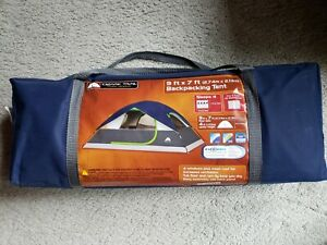 Ozark Trail 9ft x 7 ft Backpacking Tent sleeps 4 New in bag