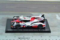 Spark TOYOTA TS050 Hybrid Racing Car Le Mans 1/43 Scale