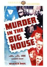 MURDER IN THE BIG HOUSE NEW DVD
