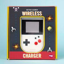 Wireless Charger Retro Gamer (retro style handheld game device gameboy)