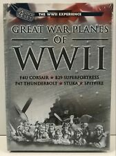 GREAT WAR PLANES OF WWII 4 DVD SET ; STUKA, SPITFIRE, F4U CORSAIR, B29, P47, NEW