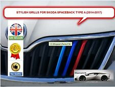 SKODA RAPID SPACEBACK (Type A) Front Sports Kidney Grille Cover Clips (2014-17)
