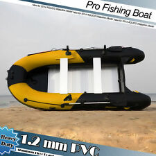 1.2mm PVC 9.8' Inflatable Boat Inflatable Rafting Fishing Dinghy Tender Pontoon