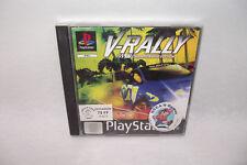 Jeu Playstation 1 PS1 V-RALLY 97 Champion Edition Infogrames PAL sans manuel
