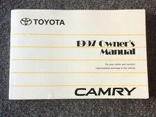 1997 Toyota Camry owners manual OEM 97