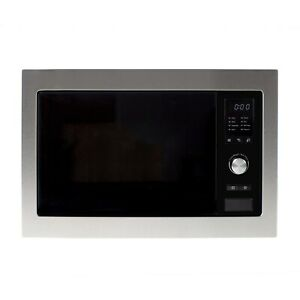 electriQ Stainless Steel 25L Built-in Digital Standard Microwave
