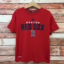Adidas Boston Red Sox Red Boy's Climate Shirt. Size 7.