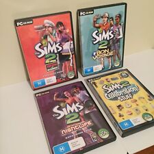 The Sims 2 PC CD-ROM Expansion Pack Bulk Lot - 4 Game Bundle