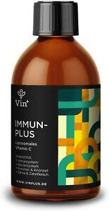 Vinplus Liposomales Vitamin C mit Sanddorn   Hochdosiert   Immunsystem stärken