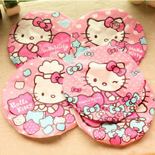 1PC NEW Hello Kitty Womens Adult Bathing Shower Cap Hat Hair Protect Waterproof
