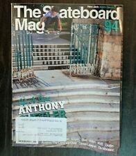 The Skateboard Mag Issue 94 Jan 2012 Anthony Shetler Elijah Boo Allen Ave Dollin