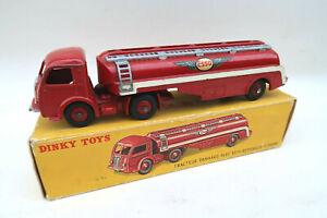 Original Dinky Toys 32C Camion Panhard Citerne Esso + Boite d Origine TBE