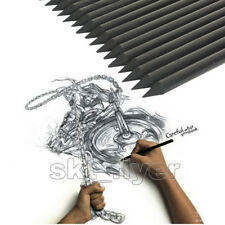4pcs Marie's Full Charcoal Pencil For Drawing Soft Painting Sketch Set School