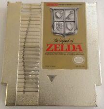 The Legend of Zelda NES Gold Game Cartridge