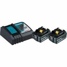 Makita 18V Batterie + Chargeur puissance Source Kit 2x Batterie 4,0Ah