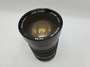 Vivitar Series 1 28-90mm F2.8-3.5 VMC Zoom Lens for Canon FD Mount Cameras *READ
