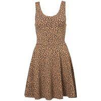 Topshop Leopard Print Short Jersey Tunic Skater Dress BNWT UK 8 US 4 RRP £26