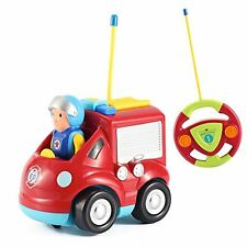 Cartoon R C Fire Truck Car Radio Control Toy for Toddlers by Liberty Imports