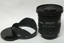 Sigma 10-20 mm / 3,5 EX DC HSM Objektiv für Nikon gebraucht  guter Zustand