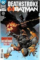 Deathstroke #31 vs Batman DC Comic 1st Print 2018 unread NM