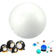 5 Inch White Foam Ball Science Modelling Sphere Arts Crafts Floral Decor Garden