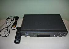 Sony VCR SLV-EZ44AZ With Remote & Cables. PAL, NTSC
